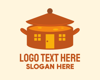 Cooking - Home Cooking Soup Pot logo design