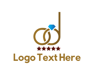 Engagement - Wedding Rings logo design