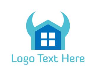 Evil - Evil House logo design
