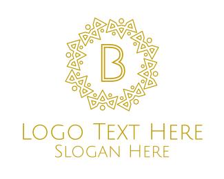 Modern - Luxurious Royal Lettermark logo design