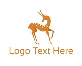 Doe - Forest Deer logo design