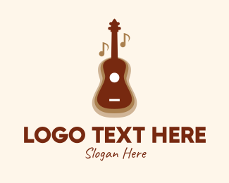 Musical School - Classic Guitar Music  logo design
