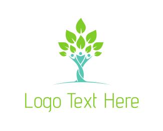 Support - Tree People logo design