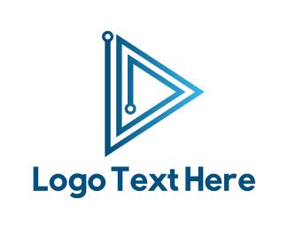 Youtube - Circuit Media logo design