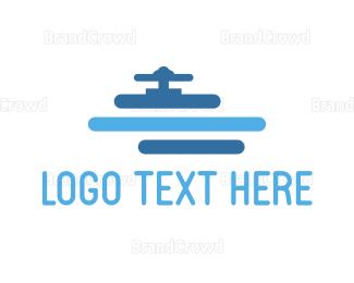 Plumb - Water Pipe logo design