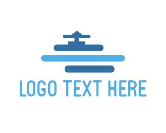 Pipe - Water Pipe logo design