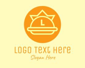 Burger - Crown Burger Letter logo design