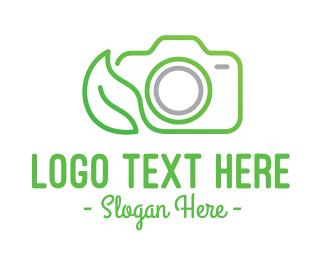 Photograph - Nature Camera Outline logo design