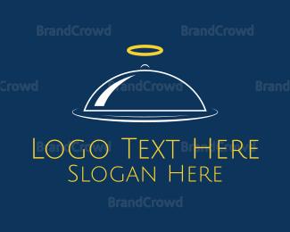Tray - Angel Tray logo design