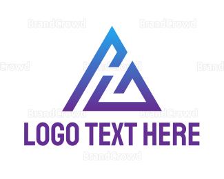Ag - Abstract AG Gaming logo design