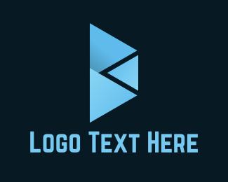 Geometrical - Abstract Letter B logo design