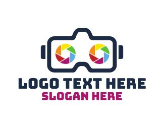 Shutter - Shutter Goggles logo design