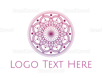 """Pink Mandala "" by eightyLOGOS"