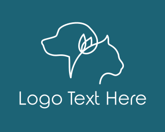Flower - Pet & Flower logo design