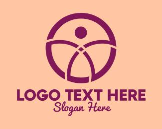 Generic Person - Simple Circle Person logo design