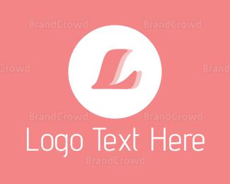 Designer - Sleek Pink Emblem logo design