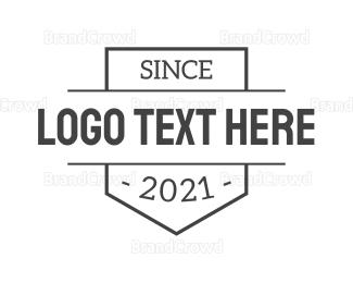 Emblem - Grey Emblem logo design