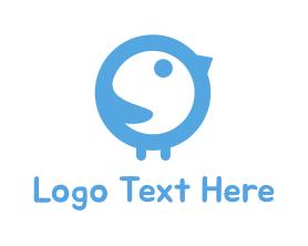 Little - Baby Bird logo design