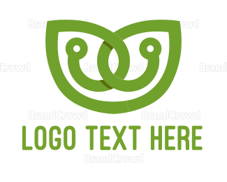 Environmentally Friendly - Leaf Circuit logo design
