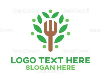 Herbal - Organic Food logo design