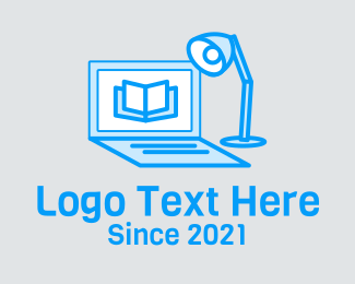 Review - Laptop Desk Lamp logo design
