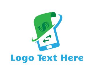 Cash - Online Payment  logo design