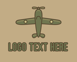 """Army Green Aircraft"" by FishDesigns61025"