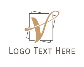 """""""Letter V Luxury"""" by eightyLOGOS"""
