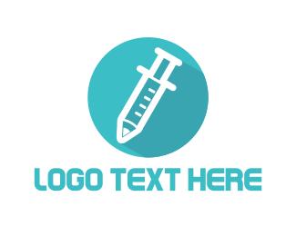 Vaccine - Vaccination Circle logo design