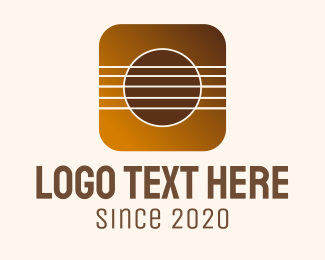 String Instrument - Music Strings Mobile Application logo design