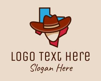 Saloon - Texas Cowboy  logo design