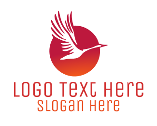 Tourist - Sunrise Bird logo design