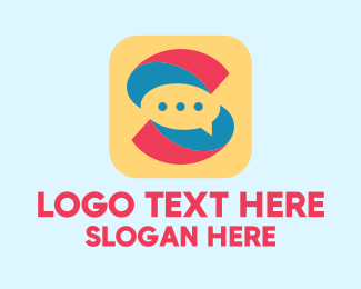 """""""Letter S Messaging App """" by ions"""