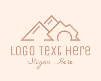 Editing - Travel Mountain Photography logo design