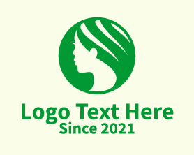 """Green Hairdresser Emblem "" by novita007"