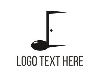 Jazz - Music Door logo design