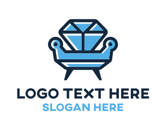Stone - Diamond Furniture logo design