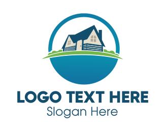 Lodge - Rural Village logo design