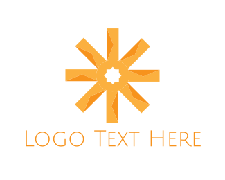 Orange Asterisk Logo