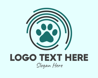 Dog Adoption - Veterinary Radio Frequency logo design
