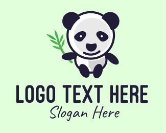 Wildlife Conservation - Panda Mascot logo design