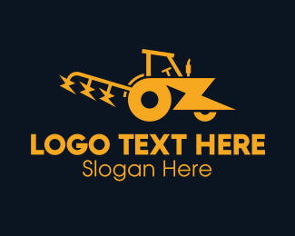 Electrical - Electric Tractor logo design