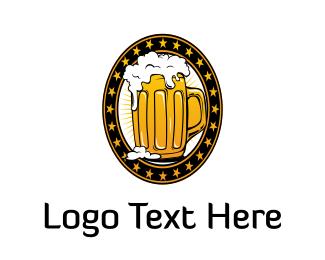 Bavaria - Golden Beer logo design