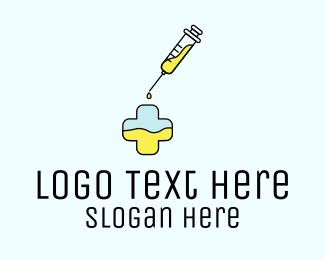 Medical Service - Medical Vaccination Clinic logo design