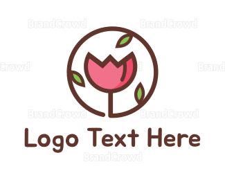 Retail - Flower Circle logo design