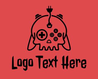 Death - Death Skull Esports logo design