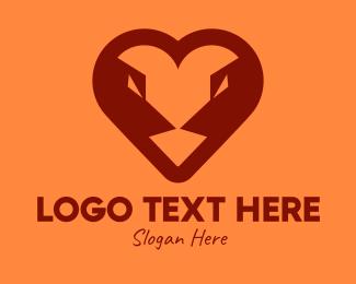 Animal - Animal Angry Heart logo design