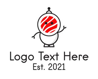 Sushi - Sushi Robot logo design
