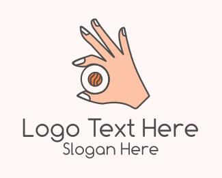 Sushi - Sushi Hand logo design