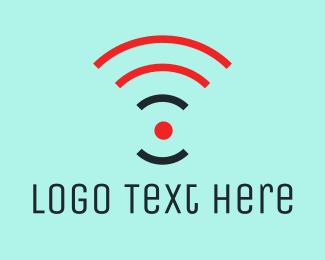 Small Business - Orange Wifi logo design
